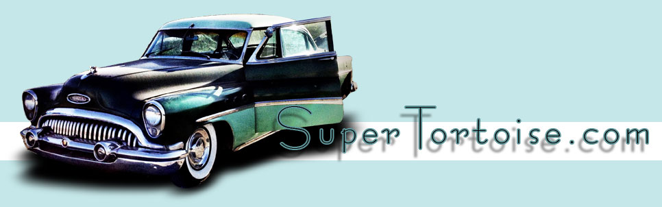 THE SUPER TORTOISE - 1953 53 Buick Super Series 52 V8 322 Nailhead with Dynaflow Transmission Dark Green with Light Green Trim - La Selva Beach, CA - Mild Custom Restoration Project (For Sale?)
